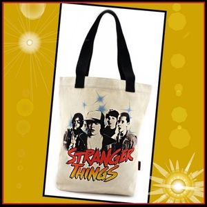 STRANGER THINGS: CHARACTERS CANVAS TOTE LOUNGEFLY